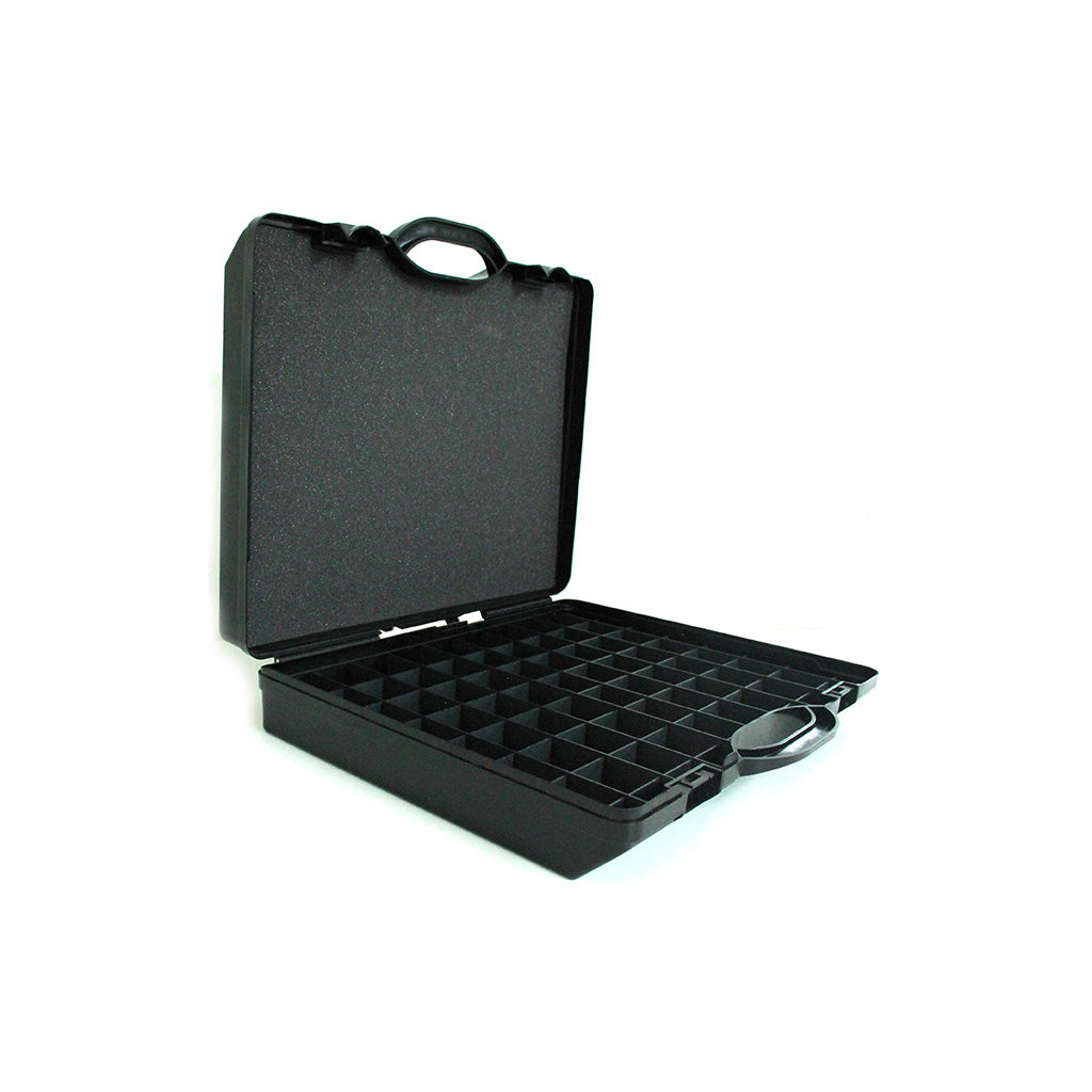 Large Plastic Case with 37mm Grid System and 10mm foam