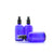100ml Blue Moulded Glass Mister Bottle