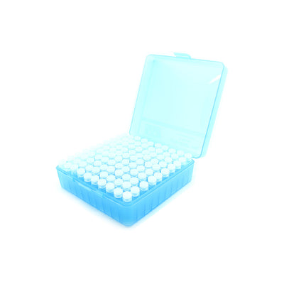 Plastic Box with 100 x 2g/1.75ml Push-in Plug Vials