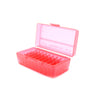 Red Plastic Box to hold 50 x 2g/1.75ml Vials