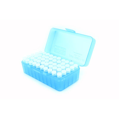 Plastic Box with 50 x 2g/1.75ml Push-in Plug Vials