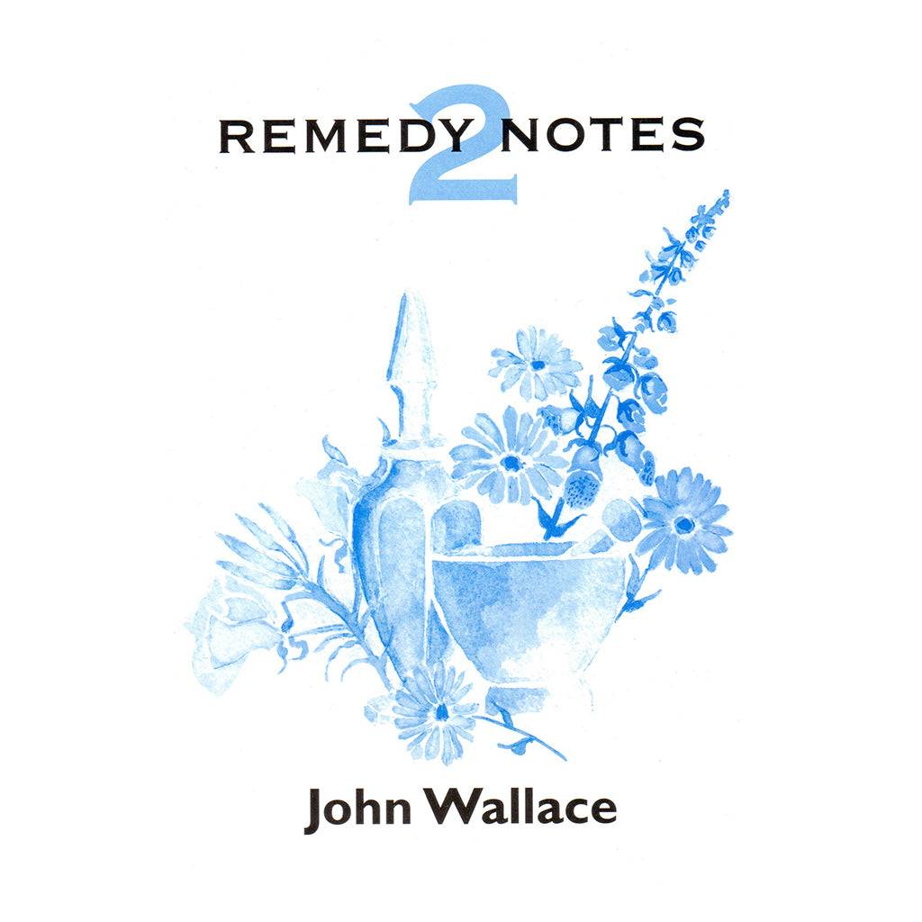 Remedy Notes 2 – John Wallace