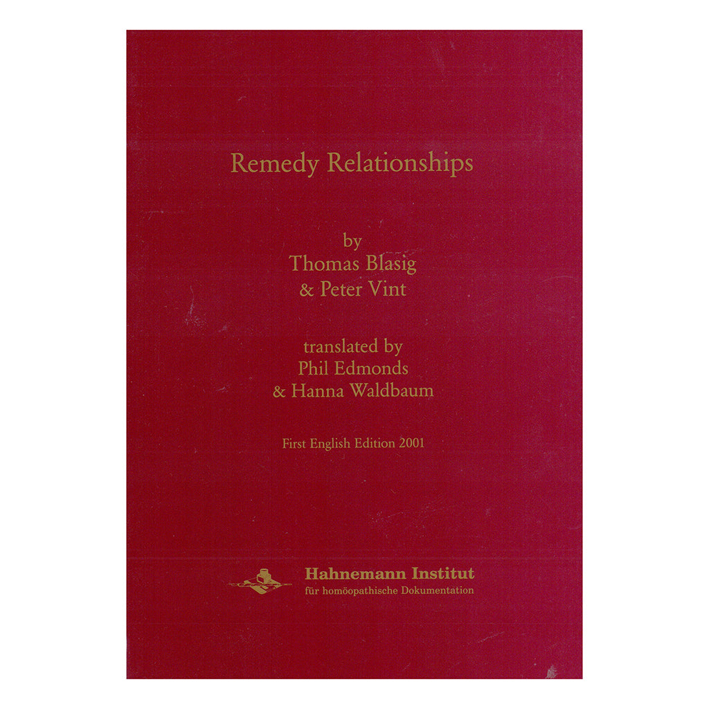 Remedy Relationships – Thomas Blasig & Peter Vint