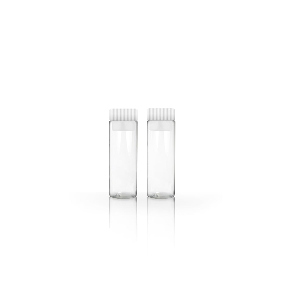 2g/1.75ml Clear Tubular Glass Vial with Push-in Plug