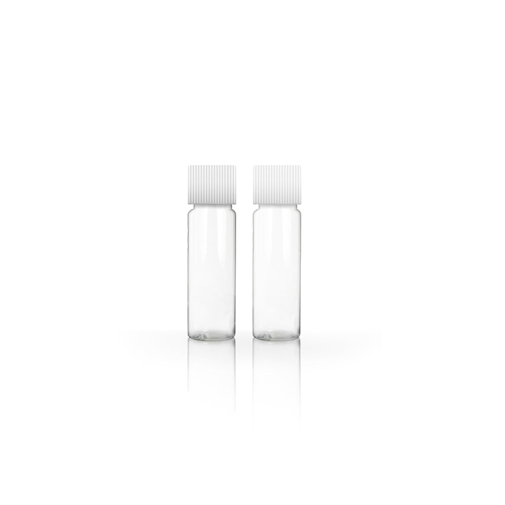 2g/1.75ml Clear Tubular Glass Screw Cap Vial