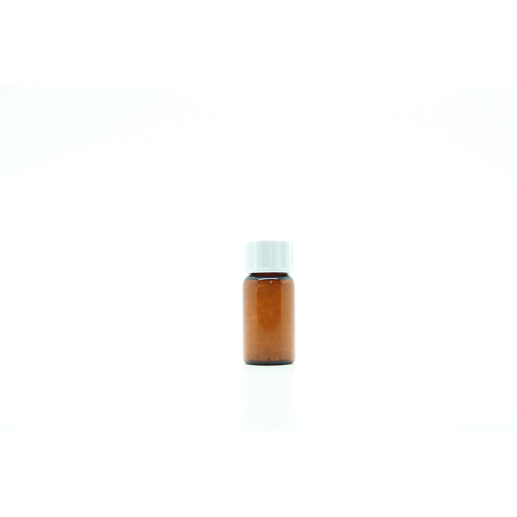 4g/5ml Tubular Glass Bottle filled with Xylitol x 50