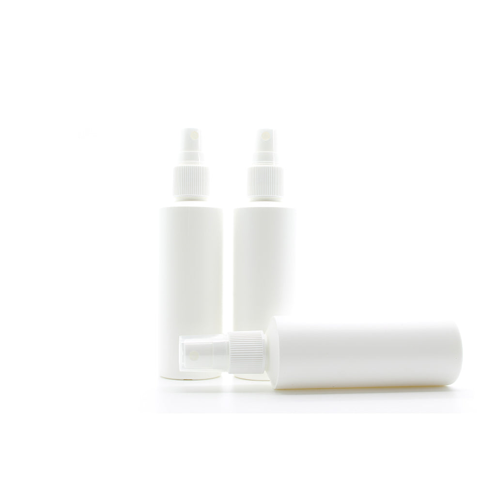 100ml White Plastic Pump Action Spray Bottle