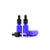 15ml Blue Moulded Glass Dropper Bottle with Tamper Evident Cap