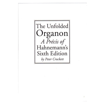 The Unfolded  Organon – Peter Crockett
