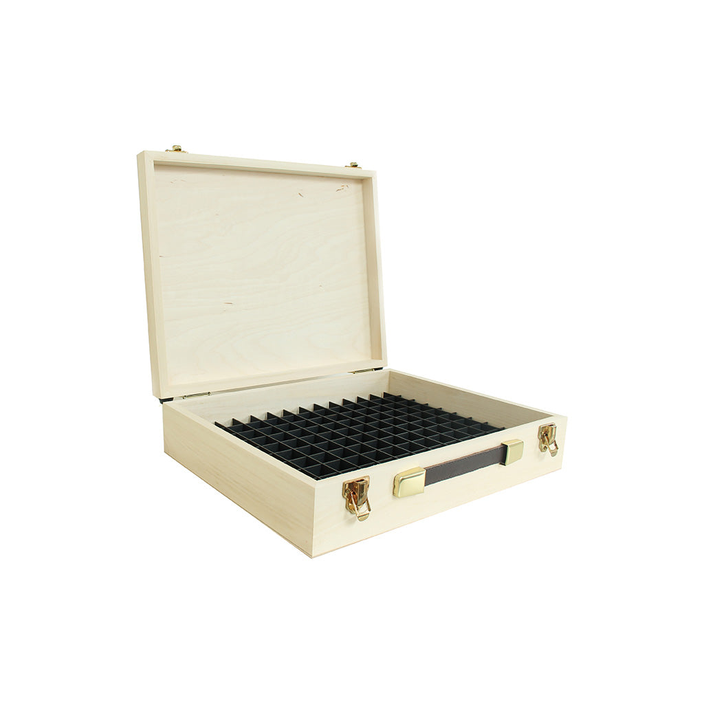 Pine Wooden Case with 24mm Grid System
