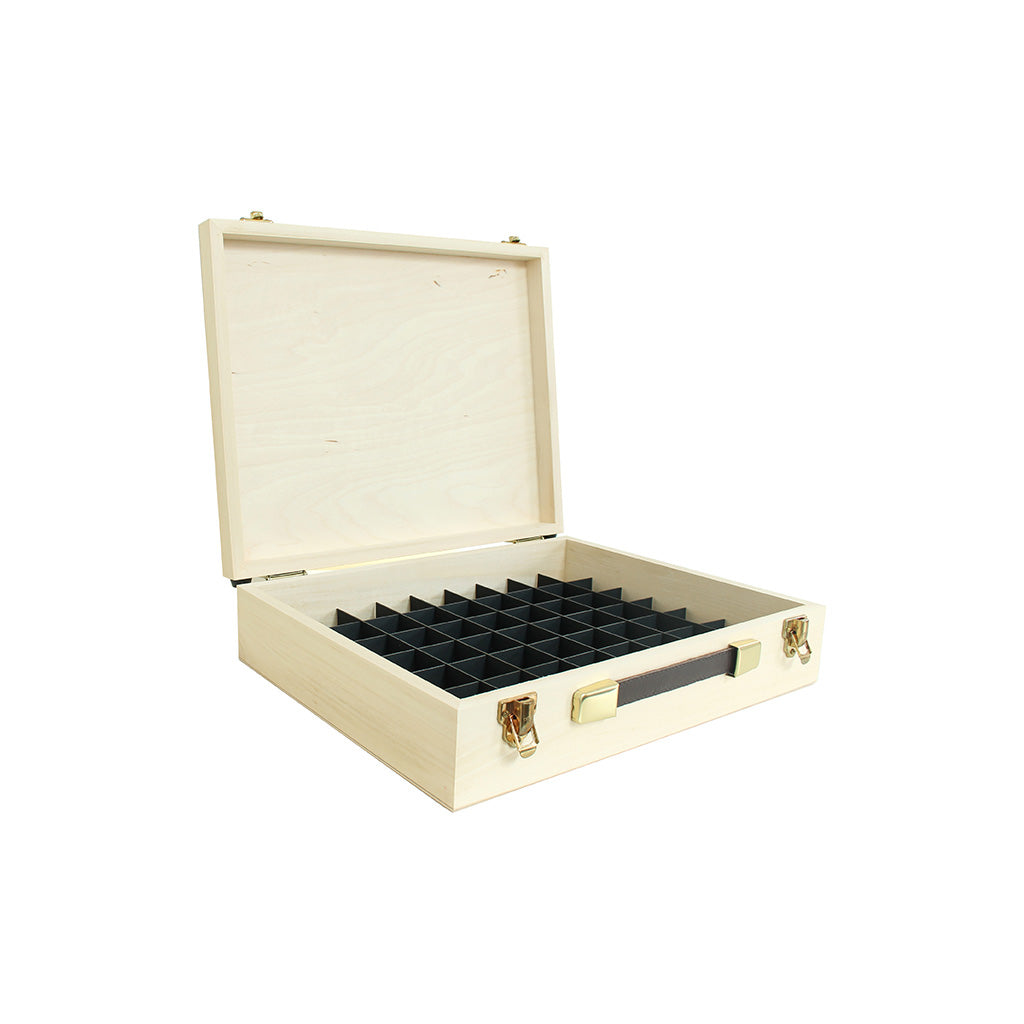Pine Wooden Case with 37mm Grid System