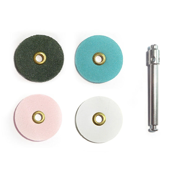 Flexible Polishing Discs - Assorted Set (100 pkg)