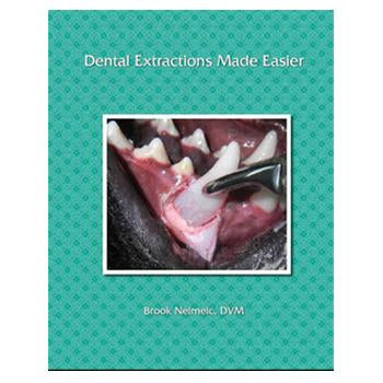 Veterinary dental products from Serona Animal Health including the Veterinary Dental Extractions Made Easier, a book by Dr. Brook Niemiec.