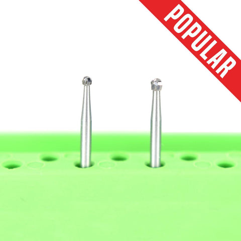 Shop online at Serona.ca for the veterinary dental Brasseler FG Round Surgical Burs, which are available in various head sizes & with a shank size of 25-30mm.