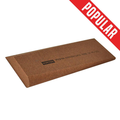 Veterinary Dental Serona Animal Health Sharpening Slip Stone, Medium Grit Red India, which is also a part of the Serona Sharpening Kit.