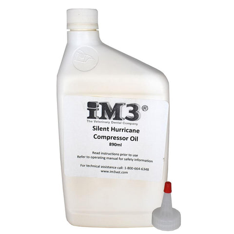 Shop online to find iM3 Dental machine maintenance kits for oil compressors, iM3 Silent Hurricane Compressor Oil, JUN-Air compressor oil, & Dentalaire compressor oil.