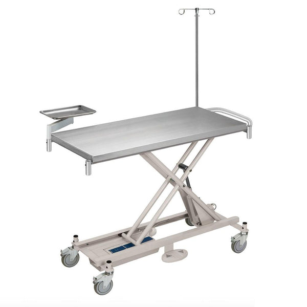 Shop online for the Olympic Treatment Table. This table can be used for treating and prepping, as well as easily rolling patients to x-ray, surgery, and more.