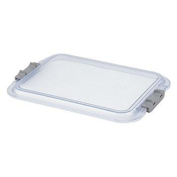 "Shop online at Serona.ca for the veterinary dental Zirc Zirc B-Size Clear Tray Cover complete with locking. The tray dimensions are 13-7/8"" x 9-7/8"" x 3/4""."