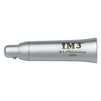 Shop online for veterinary dental products such as the iM3 Advantage 4:1 reduction straight nose cone that reduces the speed of the low-speed handpiece (motor). Made from stainless steel and autoclavable.