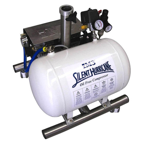 Shop online for the veterinary dental iM3 Silent Hurricane Compressor, which comes mounted on a stainless steel mobile stand with large diameter hospital grade casters.