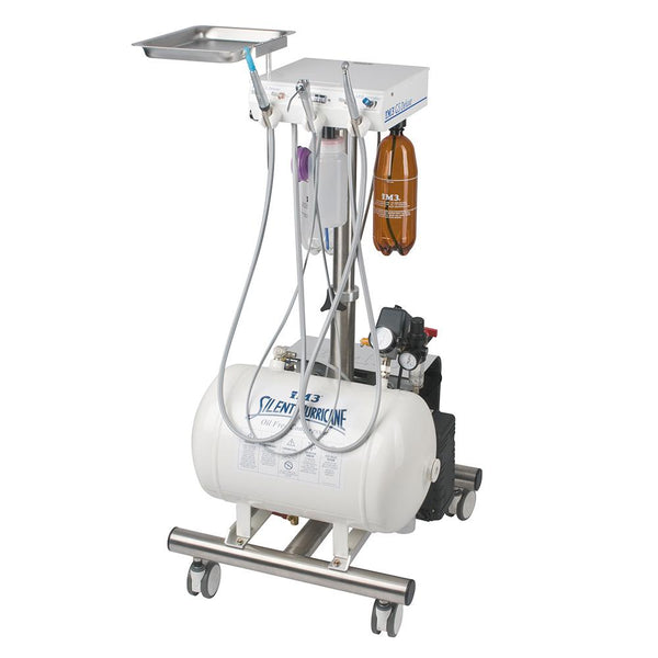 Shop online for the veterinary dental iM3 GS Deluxe LED Dental Cart. The GS Deluxe LED includes a high-speed swivel LED handpiece, 3-way syringe, and more!