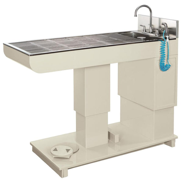 Shop online at Serona for the Olympic Veterinary Hi-Lo Wet Table, which offers a higher level of comfort and efficiency compared to other wet tables available.