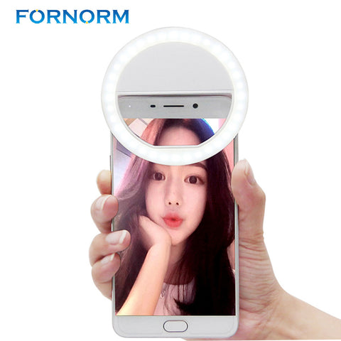 Universal Mobile Phone Selfie Light Night Selfie Light Up LED Lamps Enhancing Photography for iPhone6s Samsung Xiaomi HTC Tablet