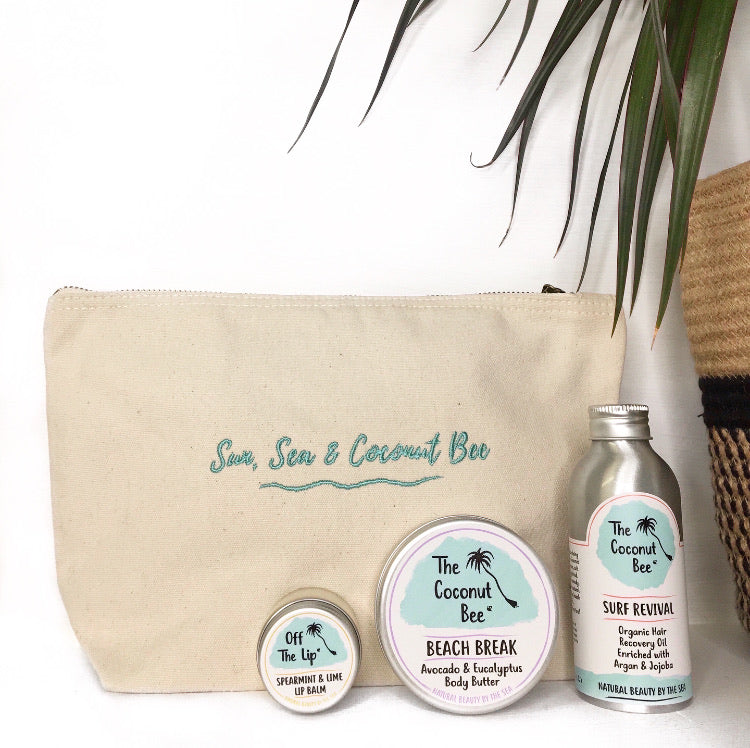 Sun, Sea & Coconut Bee' Gift Bag Set