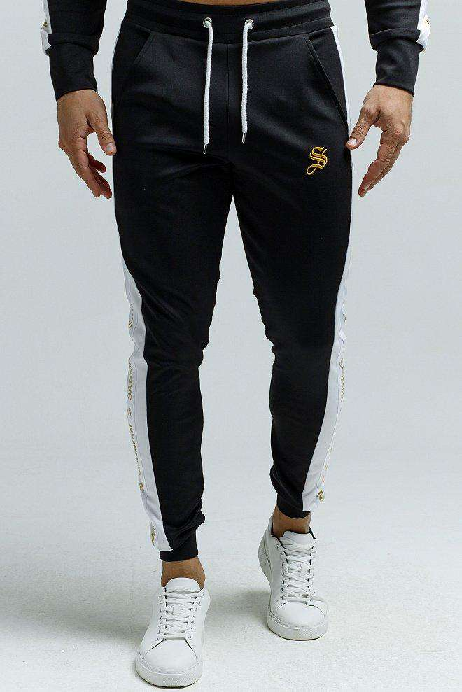 Waxen - Black Track Pant for Men