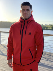 Cardinal - Red Hoodie for Men (PRE-ORDER DISPATCH DATE 1 JUIN 2021) - Sarman Fashion - Wholesale Clothing Fashion Brand for Men from Canada