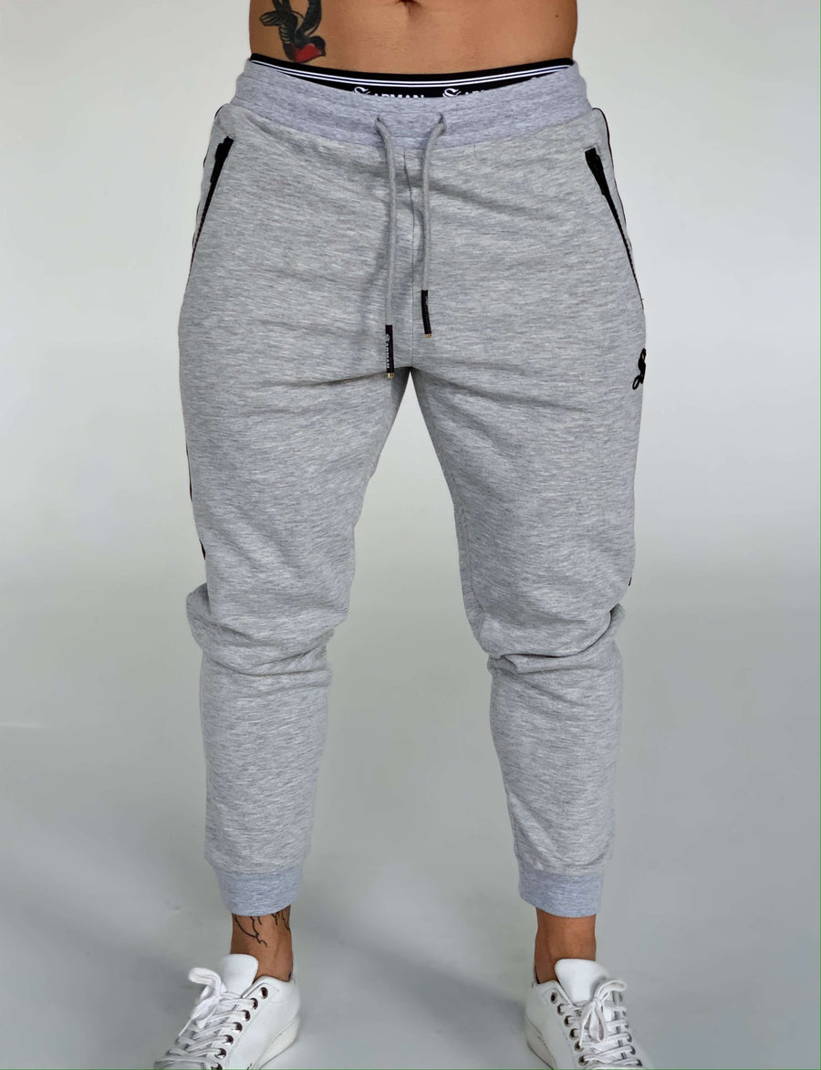 Strafe - Grey Track Pant for Men (PRE-ORDER DISPATCH DATE 1 JUIN 2021) - Sarman Fashion - Wholesale Clothing Fashion Brand for Men from Canada