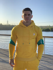 SunRise - Yellow Hoodie for Men (PRE-ORDER DISPATCH DATE 1 JUIN 2021) - Sarman Fashion - Wholesale Clothing Fashion Brand for Men from Canada
