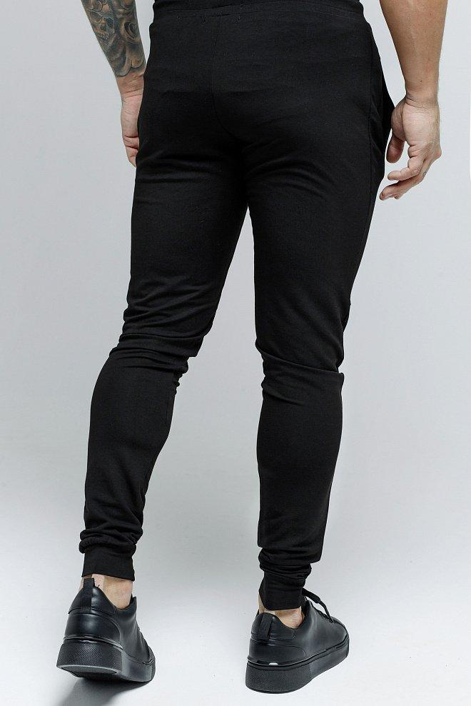 U&I - Black Sweatpant for Men - Sarman Fashion - Wholesale Clothing Fashion Brand for Men from Canada