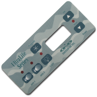 Dimension One Inlay Ultralife (Teal) - 01510-254