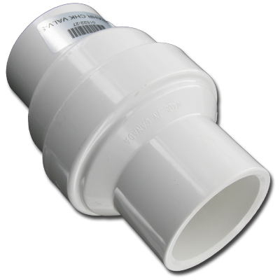 Dimension One Praher 1/2 Lb. Check Valve (White) - 01522-27 (1000-07)
