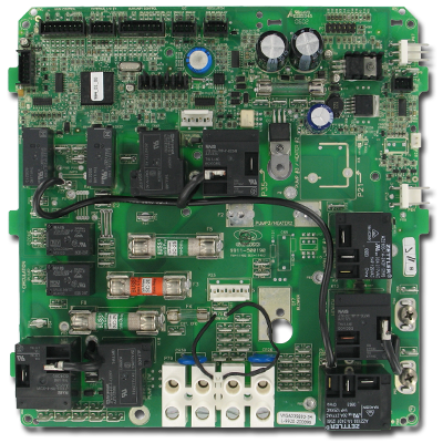 Dimension One P.C. Board, Gecko MSPA-MP-D17-NON LFX - 01710-1019