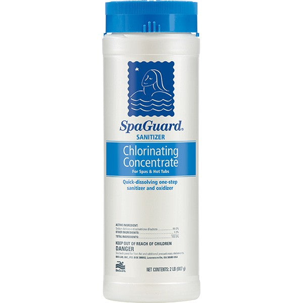 SpaGuard Sanitizer - Chlorinating Concentrate, 2 Lbs