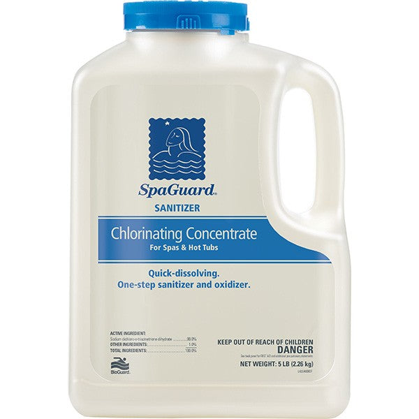 SpaGuard Sanitizer - Chlorinating Concentrate, 5 Lbs