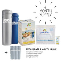 Frog @ease 4 Month Supply for Inline Cartriges