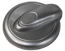 HotSpring Spa Air Control Lever in Cool Gray