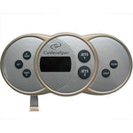 Caldera Spa Control Panel Utopia and Paradise Series from 2002 - 2009 Without Air Blower (Obsolete)