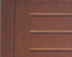 HotSpring Spa Vanguard Door in Red Wood