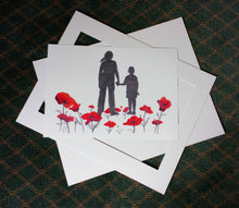 Load image into Gallery viewer, P-04 - Where Poppies Grow (A3 print)