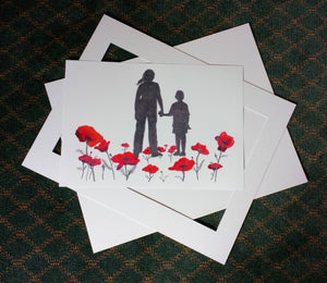 P-04 - Where Poppies Grow (A3 print)