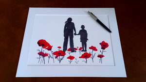 P-03 - Where Poppies Grow (A4 print)