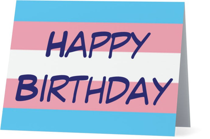 TRANS-04 - Happy Birthday (transgender)