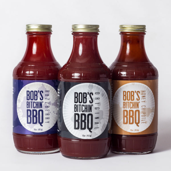 Bob's Bitchin' BBQ - 3-Pack - 3 of any sauces