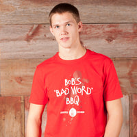Bob's Bitchin' BBQ - Bad Word t-shirt - Adult