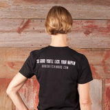 Bob's Bitchin' BBQ - Stacked logo t-shirt - Front