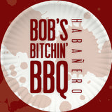 Bob's Bitchin' BBQ - Habanero sauce - bottle label